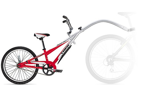 Child tag-a-long trailer bike
